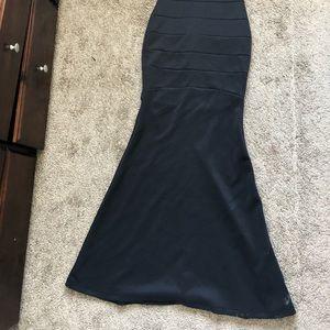 Black color party dress